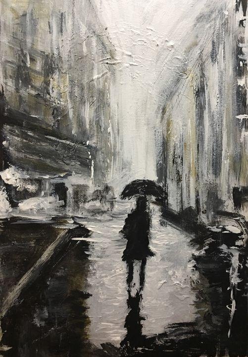London Rain - The Dragonfly Studio
