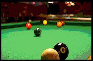 Behind the 8 Ball - Michael Campbell Fine Art