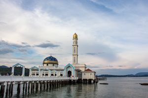 Floating Mosque Pangkor Island