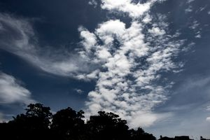 Cloud Formation Blue Pangkor