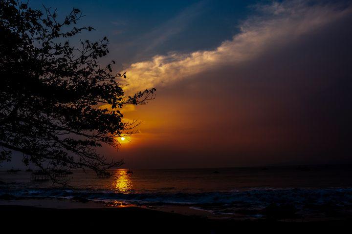 TrihandArt Ciletuh Sunset Java Beach - Trihand Art