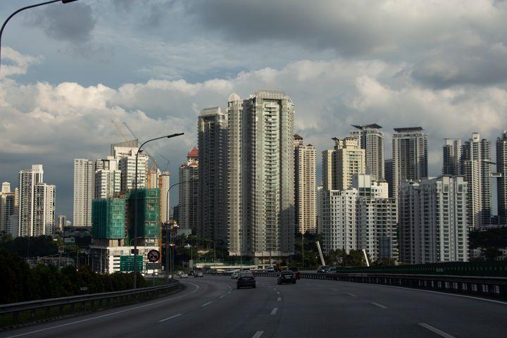 TrihandArt Kuala Lumpur City Sky - Trihand Art