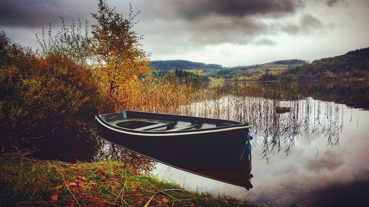 Boat on the lake. - David Travers