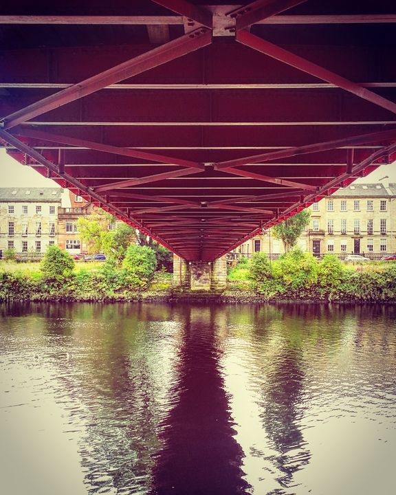 Bridge on the river Clyde. - David Travers