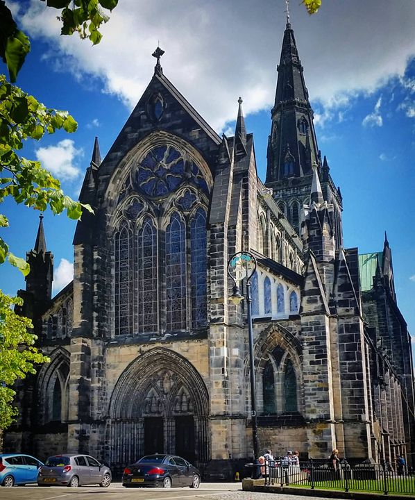 Glasgow cathedral. - David Travers