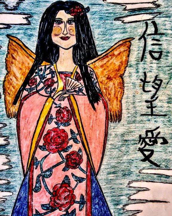 'Chinese Angel' - JonteTheArtist