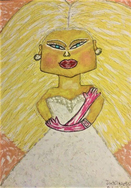 'China doll-Blond Ambition' - JonteTheArtist