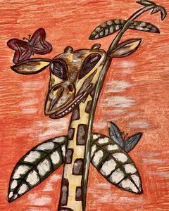 Island Giraffe - JonteTheArtist