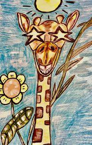 Summer Giraffe - JonteTheArtist