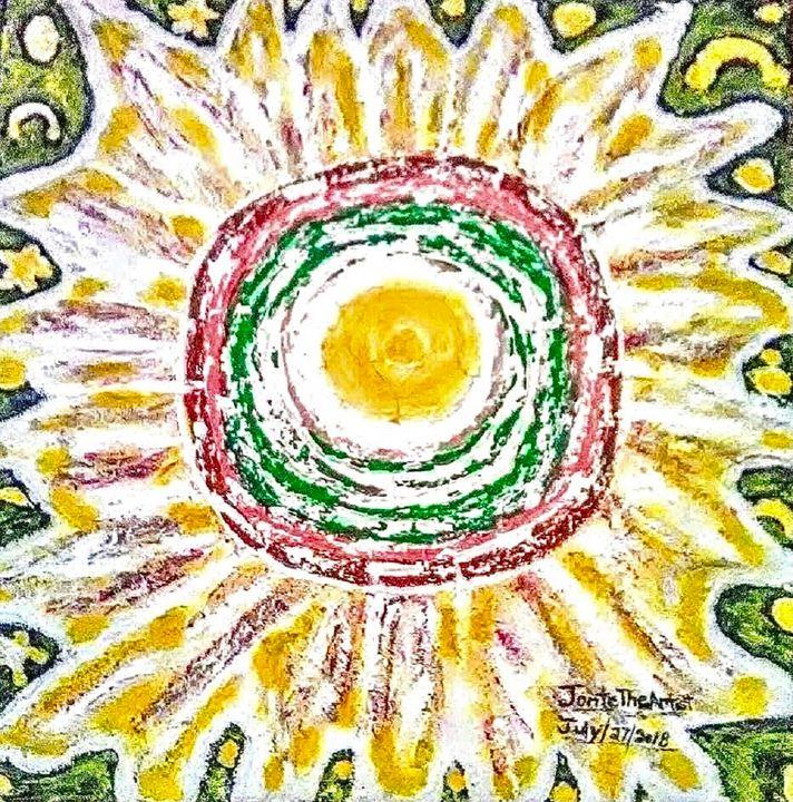 'A bloom Of Peace' - JonteTheArtist
