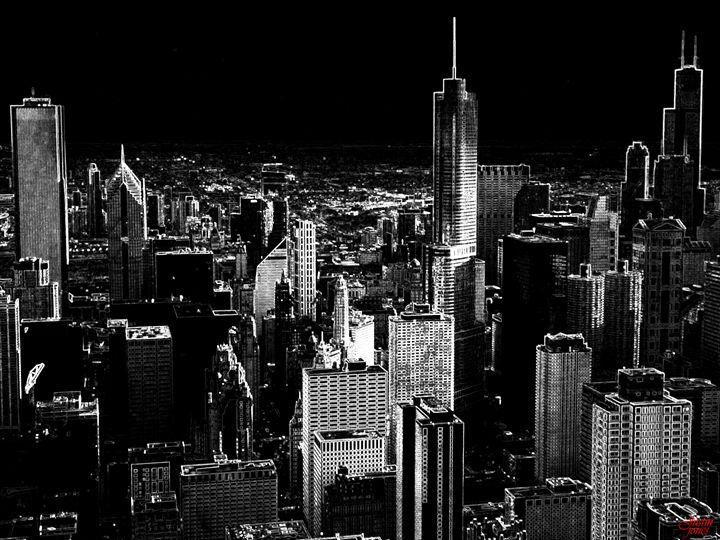 Chicago Skyline - Eco Life Choice