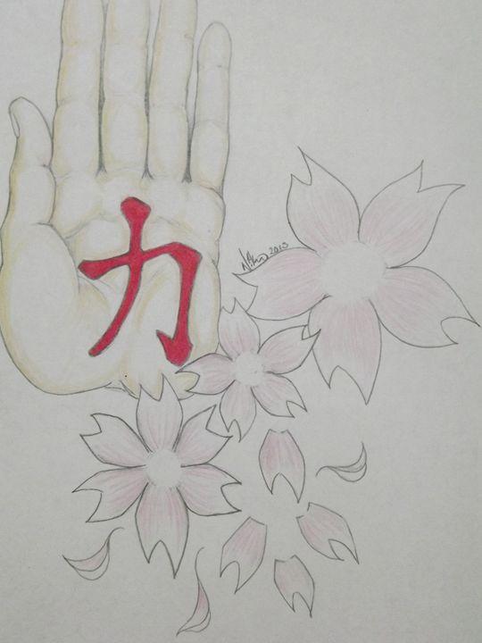 Strength blossums - Poor kidz design