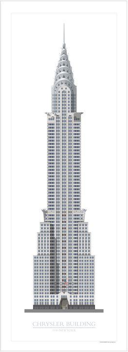 Chrysler Building, New York - VectorArchitecture