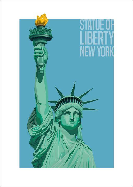 Statue of Liberty - VectorArchitecture