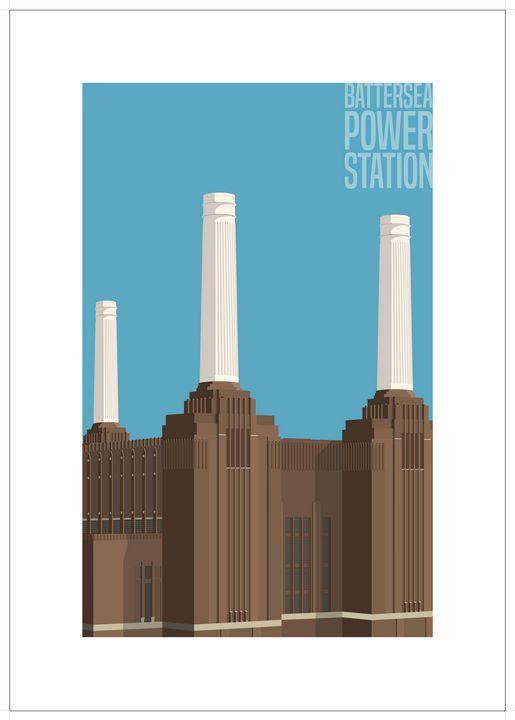Battersea Power Station, London - VectorArchitecture