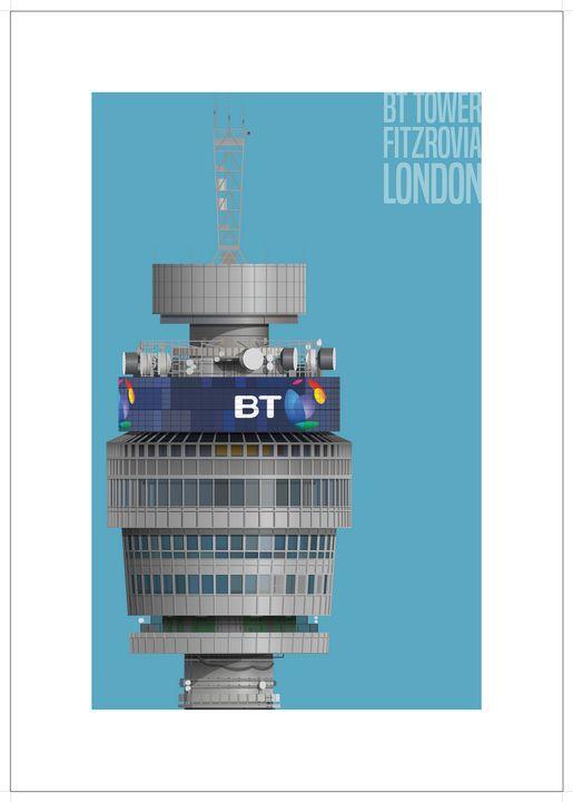 BT Tower, London - VectorArchitecture