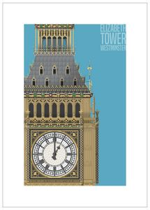 Elizabeth Tower (Big Ben), London