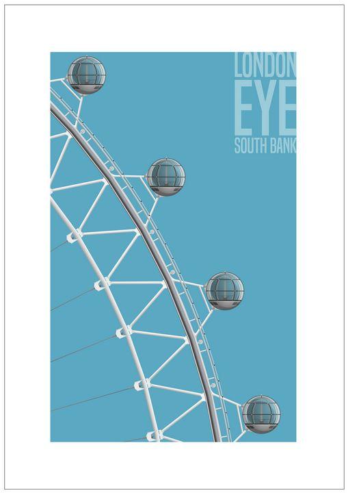 London Eye, South Bank, London - VectorArchitecture