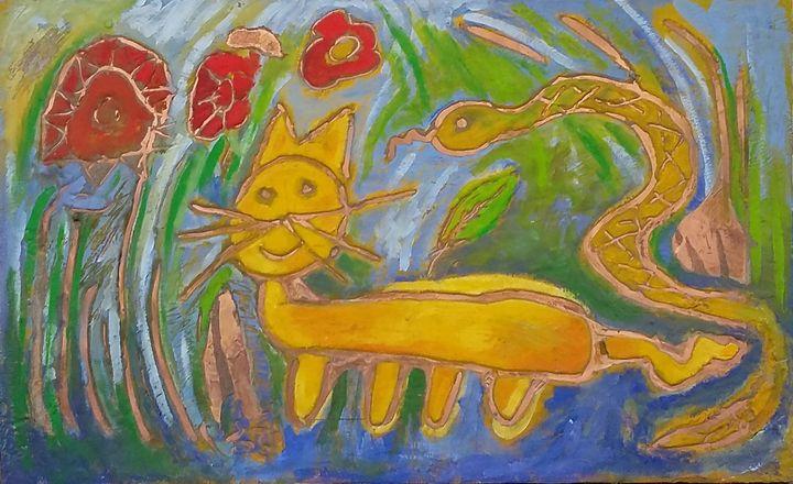 the ignorant cat - Asterios Art Lab