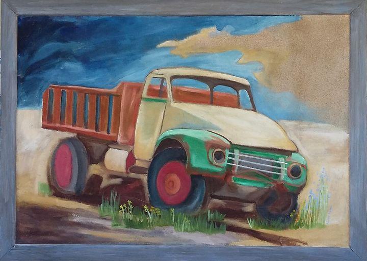toy truck - Asterios Art Lab