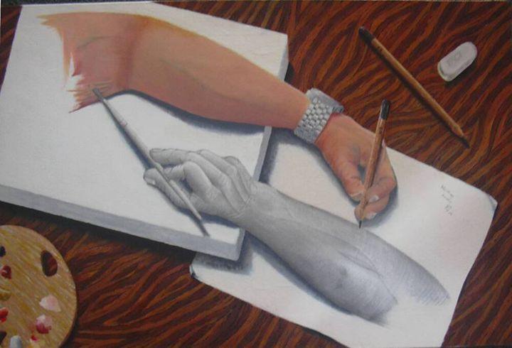 Working Hands - JRS Artworks