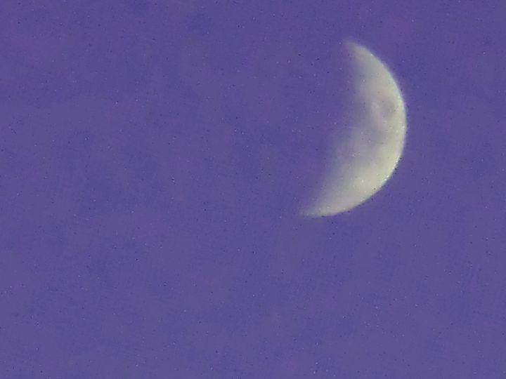 moon in sunlight - JRS Artworks
