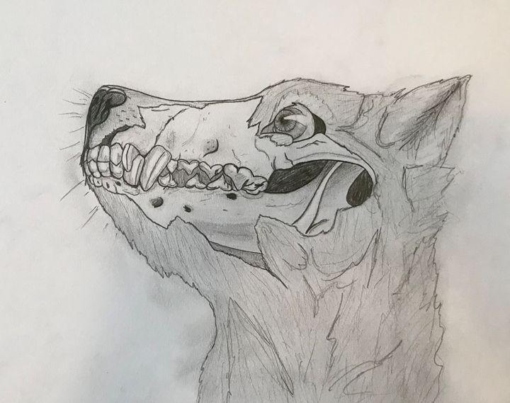 Wolf - Ashton Rose Art