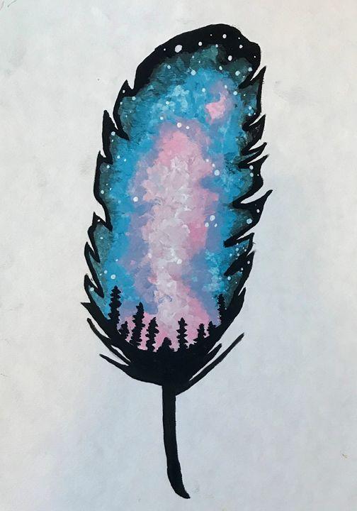 Feather - Ashton Rose Art