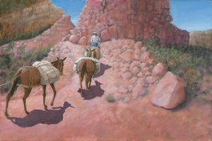Phantom Ranch Express - Paintings By Gorman