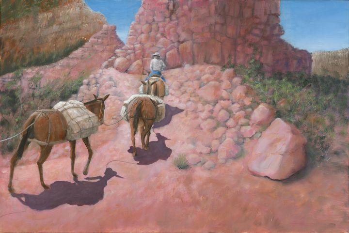 Phantom Ranch Express - Paintings By Gorman