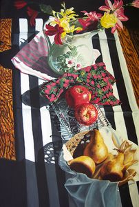 Stripes and Fruit Forever Art