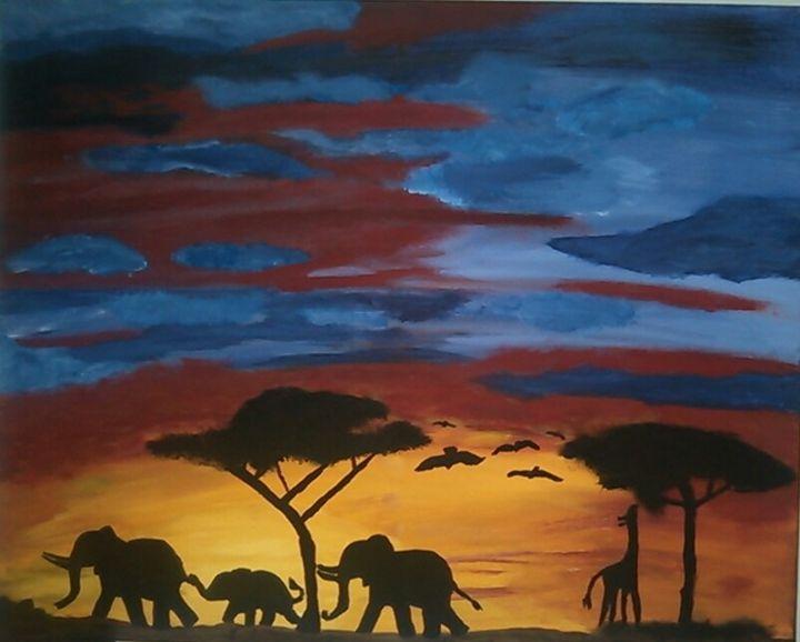 Safari Journey - Arts N Stuff