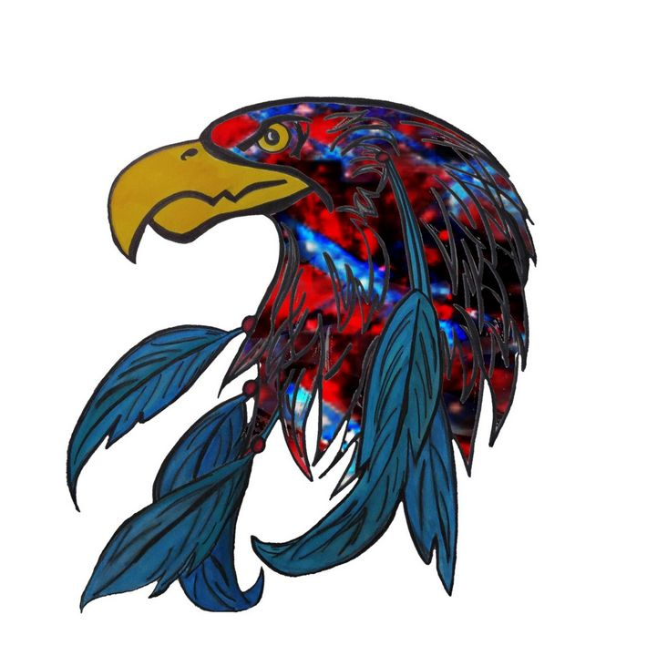 Eagle flag - Wickedhart