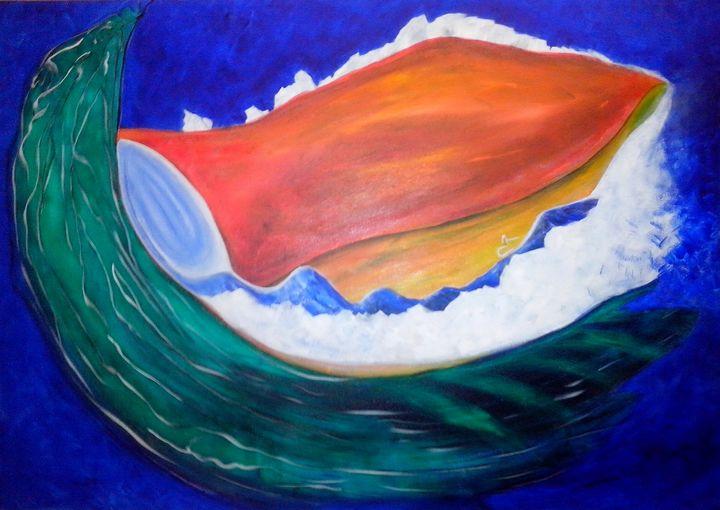 Big seashell - Canvas