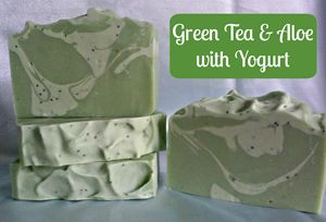 Handmade Green Tea & Aloe w/Yogurt