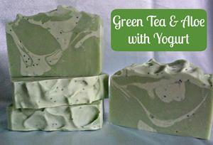Handmade Green Tea & Aloe w/Yogurt - Beautiful You Skin Care