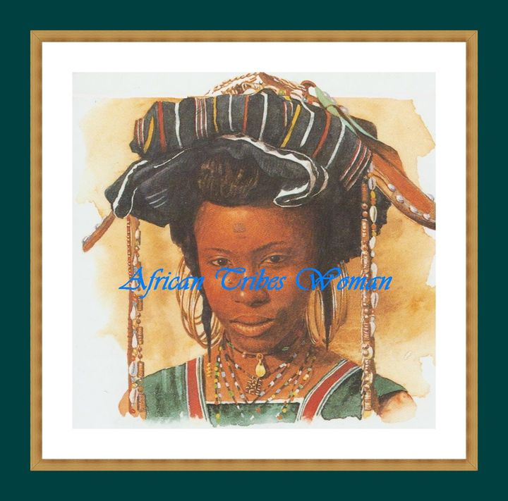 African Woman - Matrix Collection