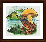 Frog Water Scene