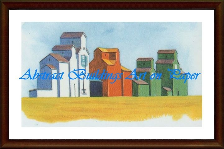Abstract Buildings - Matrix Collection