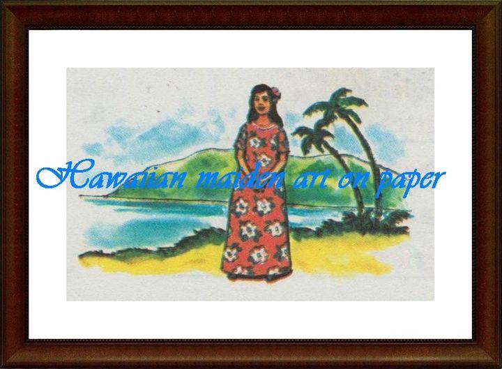 Hawaiian Maiden - Matrix Collection