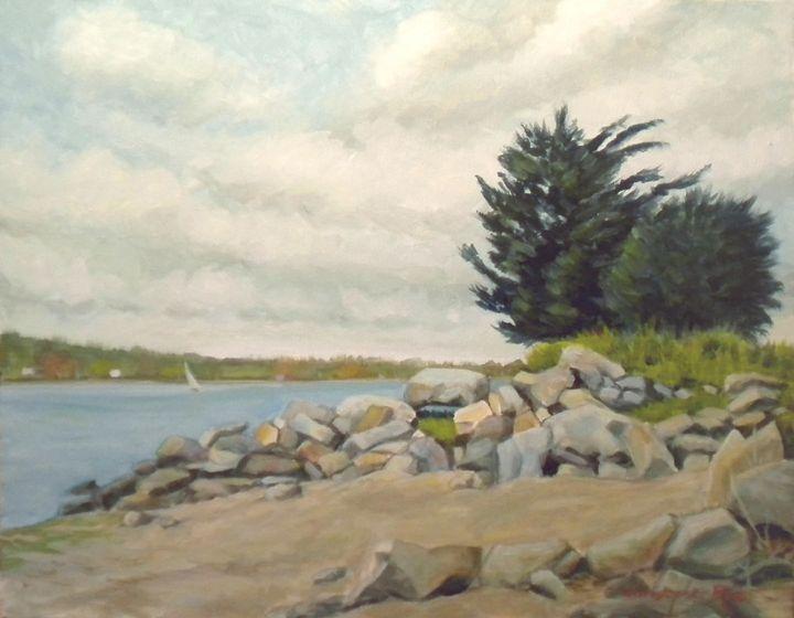 Rocks at North Farm - Christopher Roe