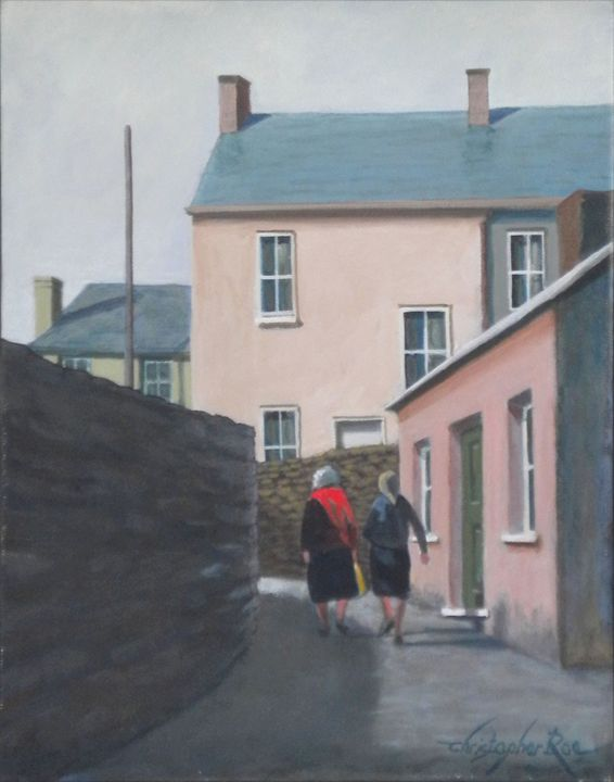 Off to the Shops, Kinsale, Ireland - Christopher Roe