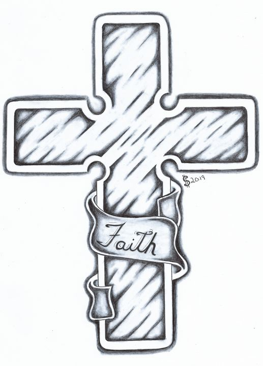 Have Faith in the Cross - Lost Art by Inmates