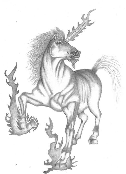Majestic Unicorn - Lost Art by Inmates