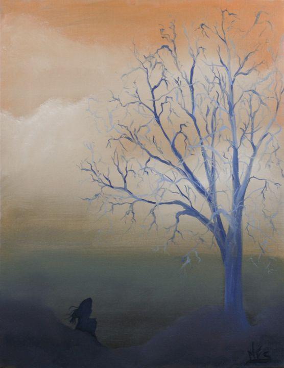Not Alone - Ria's Euphoria- The Art of Maria Fernandes
