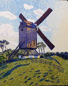 Flanders windmill - Byroart