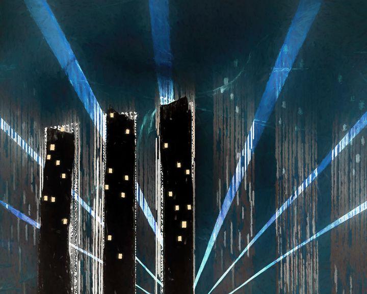 New York Night - Jon Woodhams