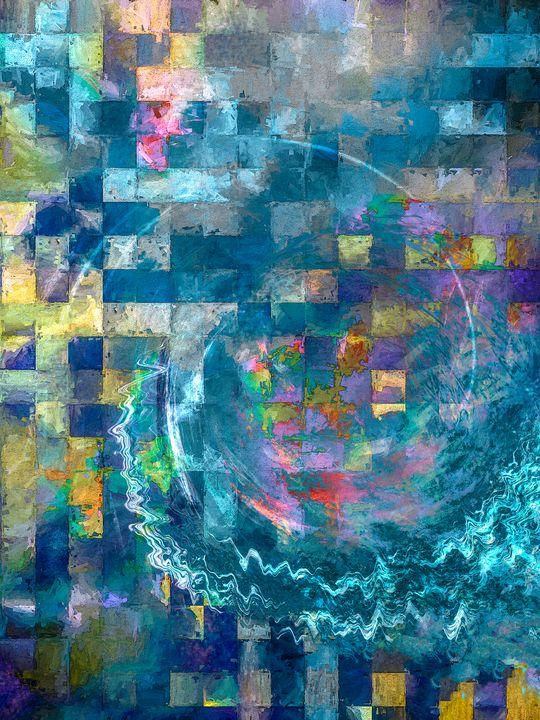 A Vision in Blue - Jon Woodhams