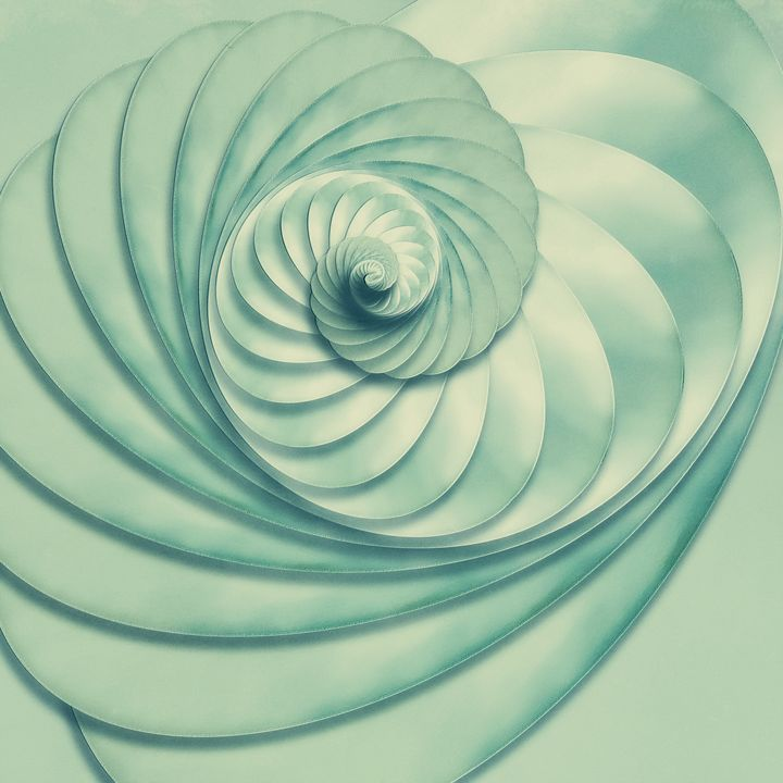 Composition in Celadon - Jon Woodhams