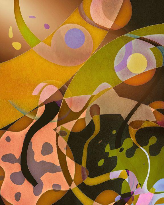 Autumnal Frolic - Jon Woodhams